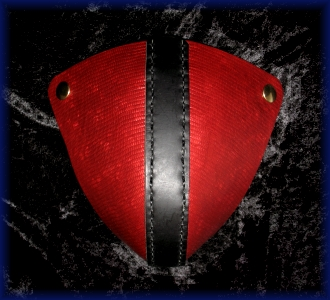 Red and Black Codpiece